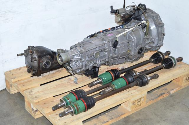 WRX TY754VZ6AA 5MT, JDM Impreza GD GG 5 Speed TY755VB3AA Transmission Package