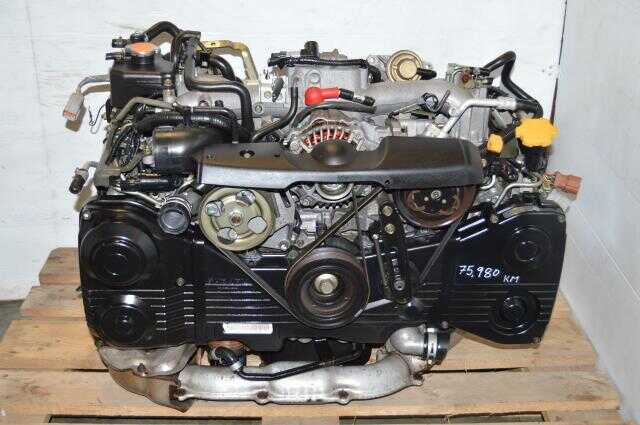 Used EJ205 WRX Turbo DOHC Motor, JDM EJ20 Turbo Replacement Engine For Sale