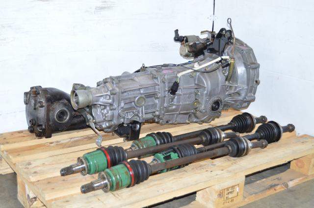 JDM 02-05 WRX TY754VZ6AA 5MT Replacement, Impreza GD GG 5 Speed TY755VB3AA Transmission Package For Sale