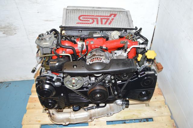 JDM Version 8 STi 2002-2007 AVCS Engine for Sale with Spec C VF36 Turbocharger