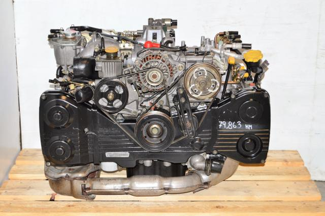 JDM Impreza WRX 2002-2005 EJ205 TD04 Low Mileage Replacement Motor For Sale