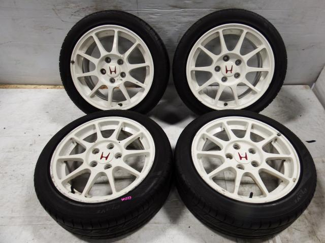 JDM HONDA DC2 TYPE R Wheels 16X7 offset 50 5X114.3 215/45R16 For Sale