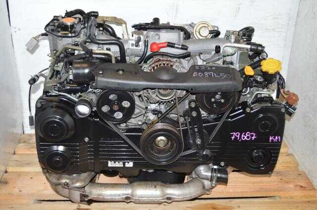 Subaru WRX 02-05 EJ205 Engine with TD04 Turbo For Sale, JDM AVCS EJ20 Turbo Motor Swap