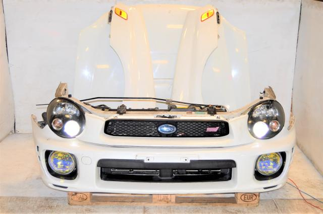 JDM WRX Version 7 Bugeye Front End Conversion with JDM Foglights, HID headlights, Fenders with Side Markers and Hood For Sale