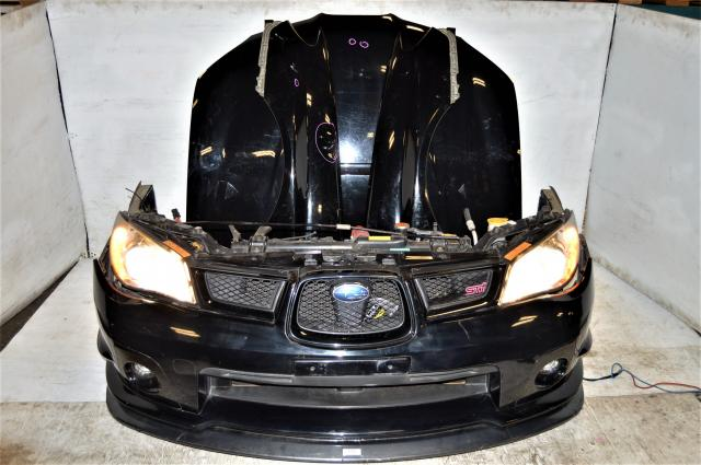 JDM Hawkeye Version 9 Nose Cut Package with Fenders, v9 Hood & Hood Scoop, HID Headlights, Foglights & Radiator For Sale