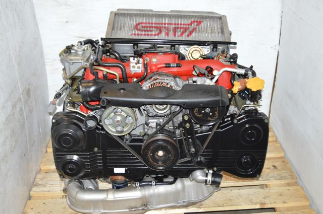 JDM STi Version 9 2002-2007 EJ207 DOHC AVCS Motor Swap For Sale