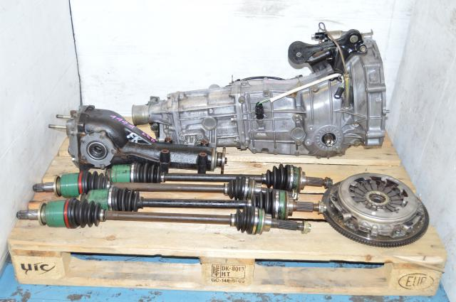 JDM Impreza 5M Replacement for TY754VN2AA, GD Subaru 5 Speed Transmission Swap For Sale