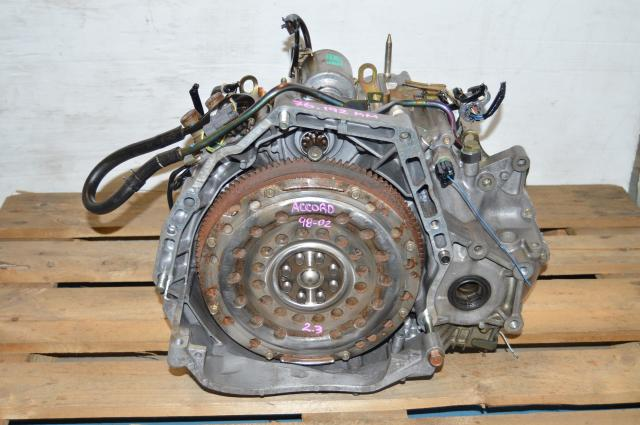 JDM Honda Accord 98-02 Baxa Maxa 2.3L VTEC Transmission For Sale