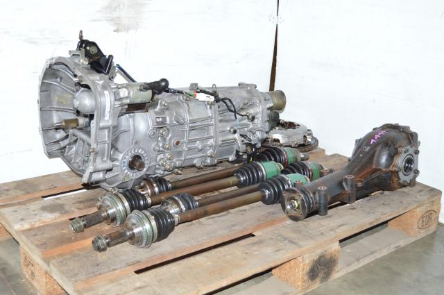 Used Subaru WRX 2002-2005 5MT Swap with 4 Corner Axles, Rear 4.444 R160 Differential For Sale