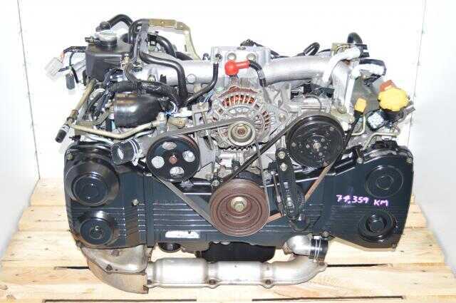 Used JDM EJ20 Turbo AVCS Engine For Sale with TF035 Turbocharger