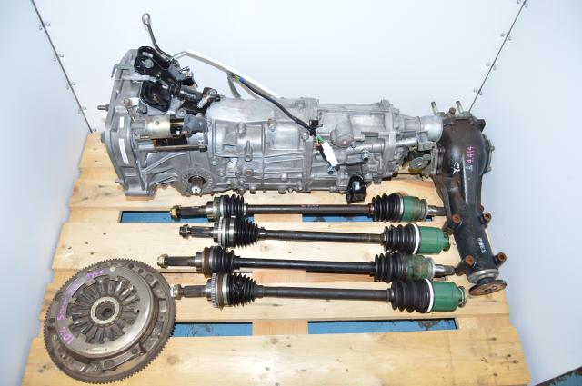 Used Subaru 2002-2005 WRX 5 Speed Manual Transmission GDB GDA Replacement Package For Sale