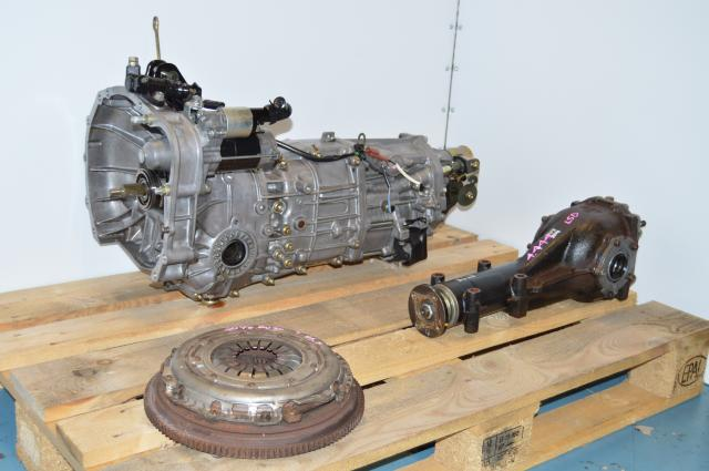 Impreza WRX 06-07 Push Type JDM Spec Transmission 5 Speed Replacement Swap For Sale