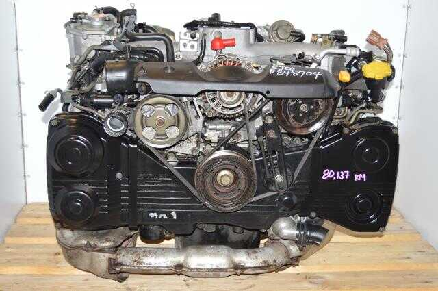 WRX 02-05 EJ205 AVCS Turbo Motor Swap, JDM Subaru EJ20 Turbo GD GG 2.0L DOHC Engine Package