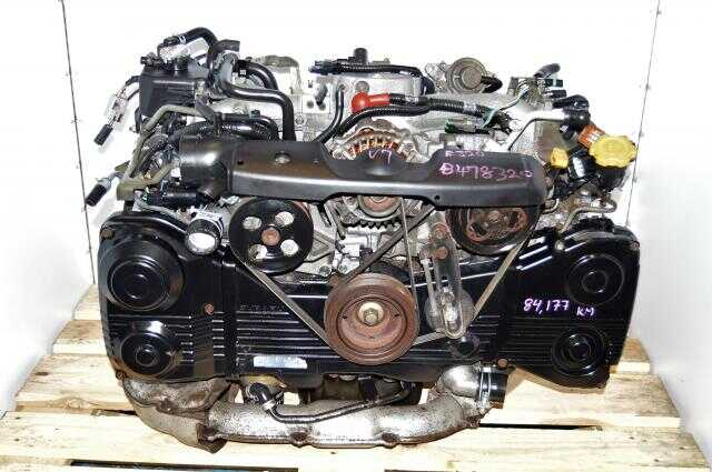 Subaru WRX 2002-2005 Turbo 2.0L DOHC AVCS Motor Swap For Sale with TD04 Turbocharger