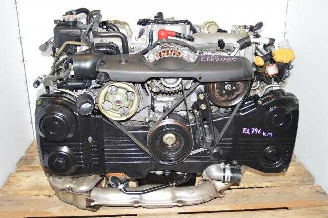 Impreza WRX Turbo EJ205 2.0L AVCS Engine, JDM EJ20 Turbocharged 2002-2005 Quad Cam Motor For Sale