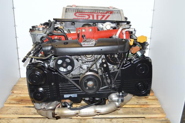 JDM Subaru Forester STi EJ255 2.5L 04-07 Motor Swap with VF41 Turbocharger For Sale