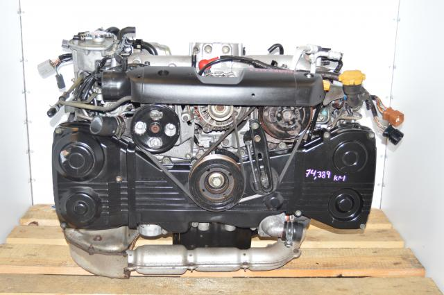 JDM EJ20 Turbocharged 2.0L Subaru DOHC AVCS Motor Swap For Sale