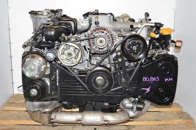 USDM EJ205 Impreza WRX Engine For Sale, DOHC 2.0L AVCS TD04 Motor Swap