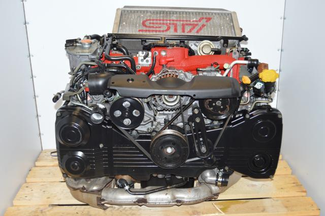 JDM Version 7 STi 2002-2007 EJ207 2.0L DOHC AVCS Subaru Engine Swap For Sale