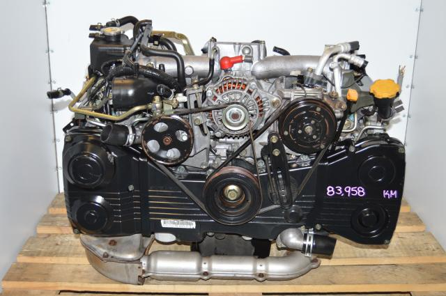 JDM EJ205 Quad Cam 2.0L WRX 2002-2005 Turbocharged Motor Swap