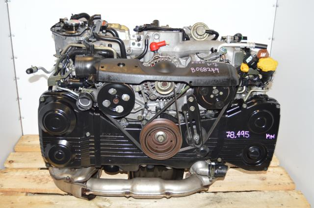 AVCS EJ205 WRX 2002-2005 Motor Package For Sale with TD04 Turbo