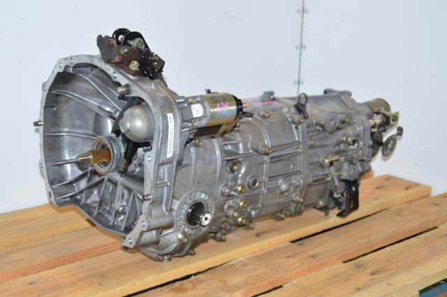 USDM Legacy 2007 2.5 GT 5 Speed Push Type Transmission Replacement For Sale with 3.9 Final Drive