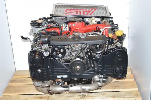 JDM Version 7 STi EJ207 2.0L AVCS Engine Package For Sale with Intercooler