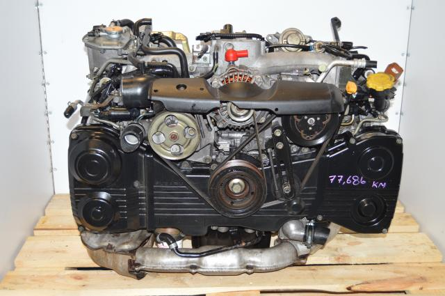 USDM EJ205 Turbocharged TD04 Engine Swap For Sale with AVCS