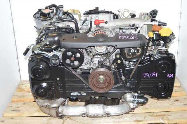 USDM EJ205 Turbocharged WRX Impreza 2.0L DOHC AVCS Engine Swap For Sale