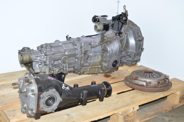 USDM WRX 2006-2007 Push Type 5 Speed Transmission Replacement Package with 4.11 LSD Differential