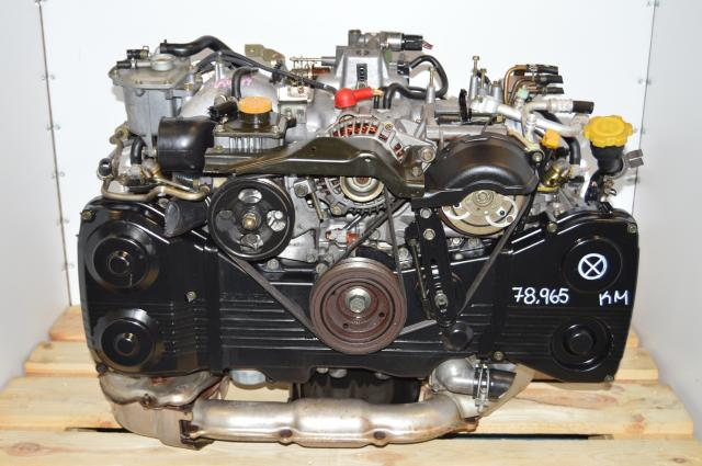 JDM WRX 02-05 EJ20 Turbo Motor Swap For Sale as Long Block