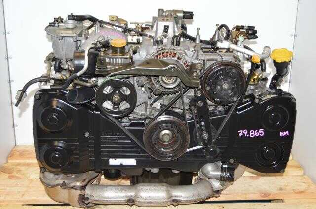 Used Subaru EJ205 JDM WRX Low Mileage Quad Cam Turbo Engine For Sale