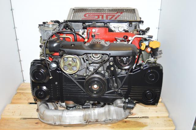 JDM WRX STi 2002-2007 Version 8 Blobeye EJ207 AVCS DOHC Complete Engine Swap For Sale with VF37 IHI Turbocharger