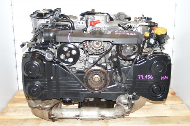 Used Subaru WRX EJ205 Turbocharged Replacement AVCS Engine Swap