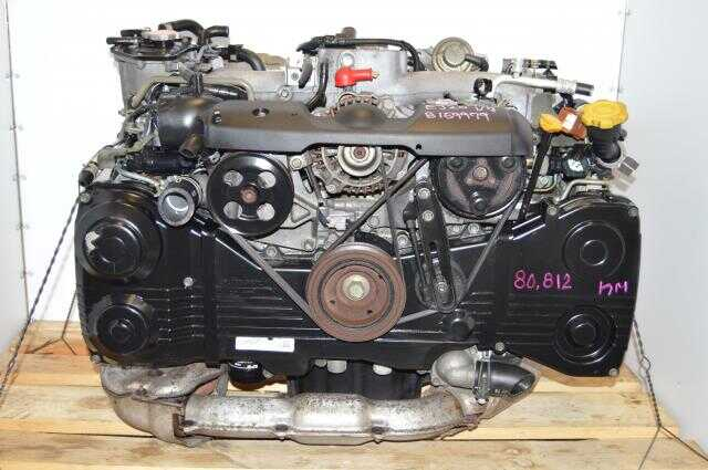 Subaru WRX 2002-2005 DOHC 2.0L EJ205 Turbo Engine Package For Sale