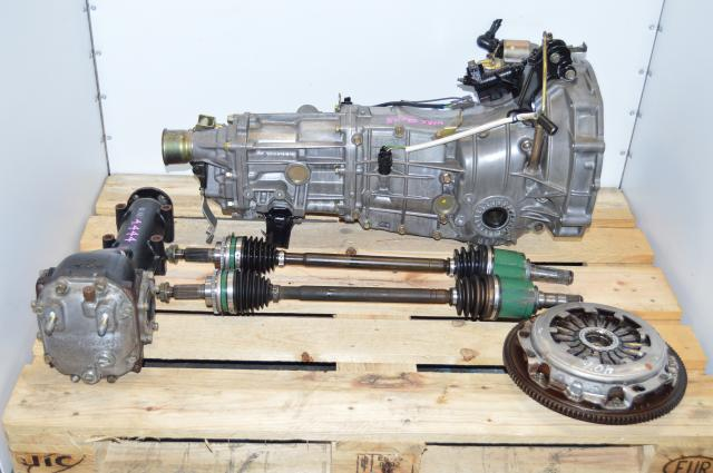 Impreza WRX 02-05 GDA GDB 5MT Swap with 4.444 Final Drive LSD Rear Diff