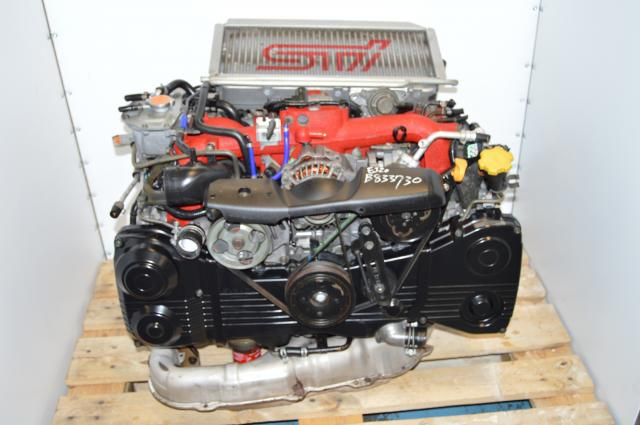 Used JDM Subaru Version 8 STi 02-07 EJ207 DOHC 2.0L AVCS Engine Swap For Sale