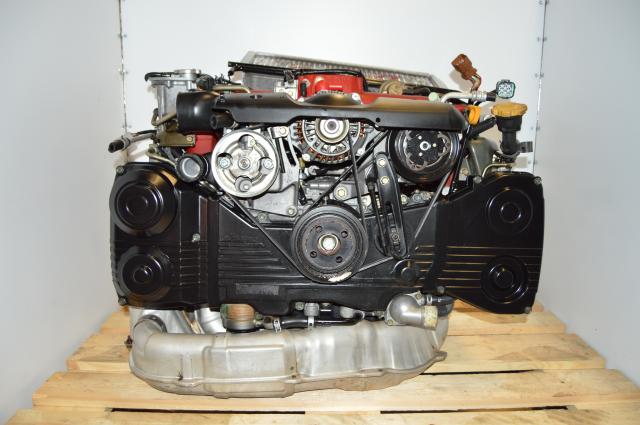 Subaru EJ207 Version 8 STi 02-07 DOHC Turbo Engine Swap For Sale with VF37 Turbo