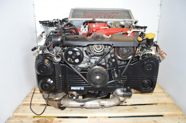 JDM Subaru Sti Version 7 EJ207 DOHC Turbocharged AVCS 2.0L Engine Package For Sale