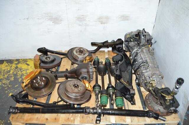 JDM Version 7 TY856WB1CA 6 Speed Non DCCD Complete 6 Speed Transmission Swap for Sale