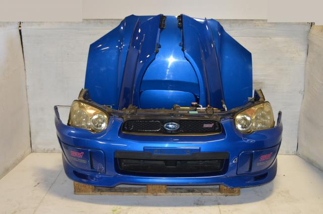 JDM Subaru WRX STI (Blobeye) Ver8 World Rally Blue Nose Cut