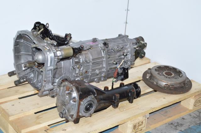 Used JDM Subaru WRX 5 Speed Transmission Replacement With 4.444 Final Drive