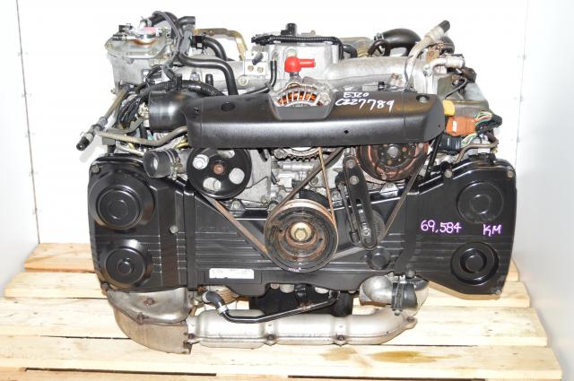 JDM 02-05 EJ20 Turbocharged 2.0L AVCS Engine Swap For Sale