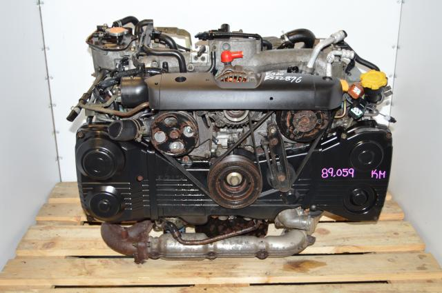 JDM EJ205 2.0L Turbo Model AVCS Motor Swap For Sale with TF035 Turbocharger