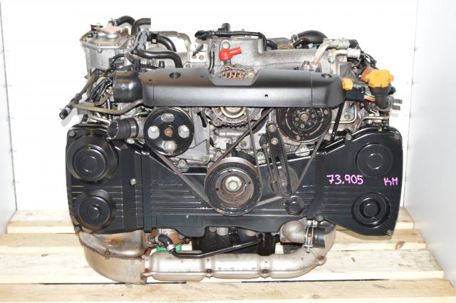 Used Subaru EJ205 Turbo 2.0L AVCS Low Mileage Engine Package For Sale