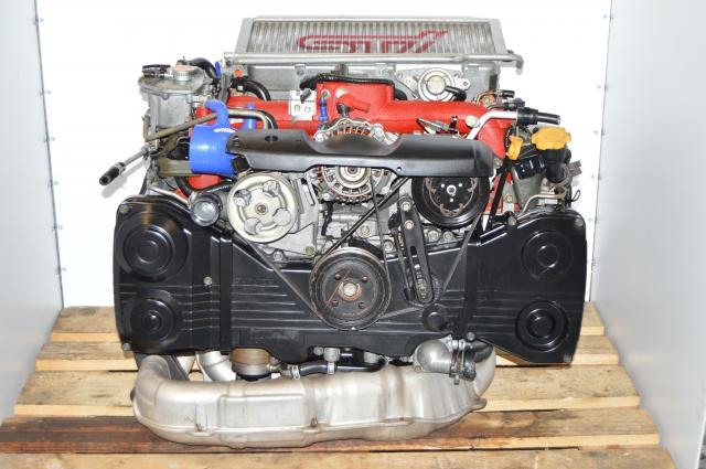 STi Subaru 2002-2007 Version 8 EJ207 2.0L AVCS Engine Package For Sale with VF37 Turbo