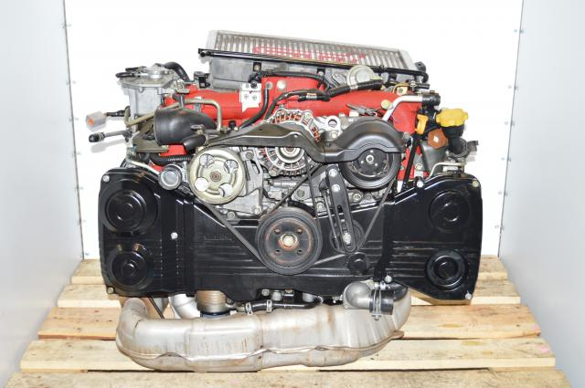 JDM Version 8 EJ207 STi 2002-2007 2.0L Turbo Engine Replacement Package