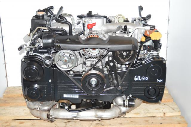 Subaru WRX GD GG 2.0L DOHC AVCS EJ205 Turbocharged Engine Replacement Package For Sale with TD04 Turbo