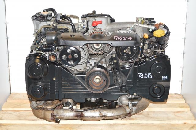 USDM Replacement EJ205 AVCS Turbocharged 2.0L DOHC Engine Package For Sale