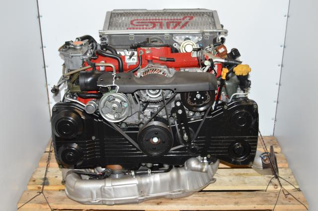 JDM Version 9 EJ207 STi 2.0L DOHC AVCS Motor For Sale with VF37 Twin Scroll Turbocharger